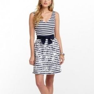 Lilly Pulitzer Blue and White Roswell Dress